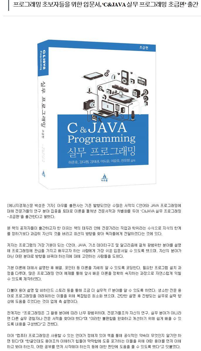 실무 프로그래밍 뉴스 기사.JPG